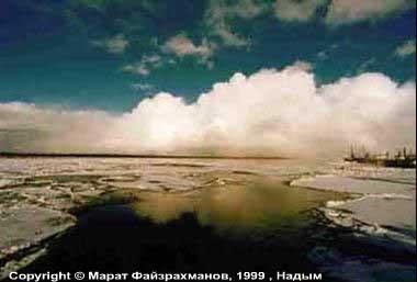 Карта Ямало-Ненецкого автономного округа с городами